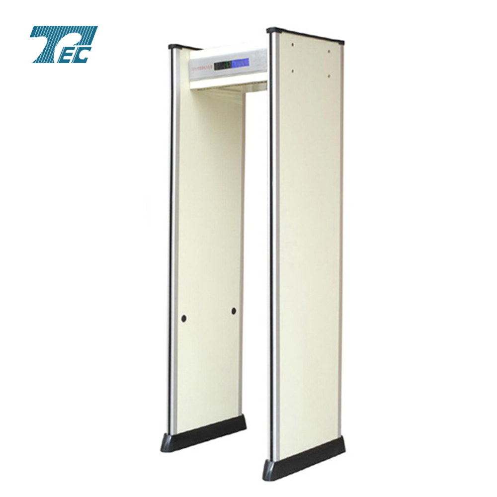 Security door frame metal detector with 6 detect zones TEC-600A