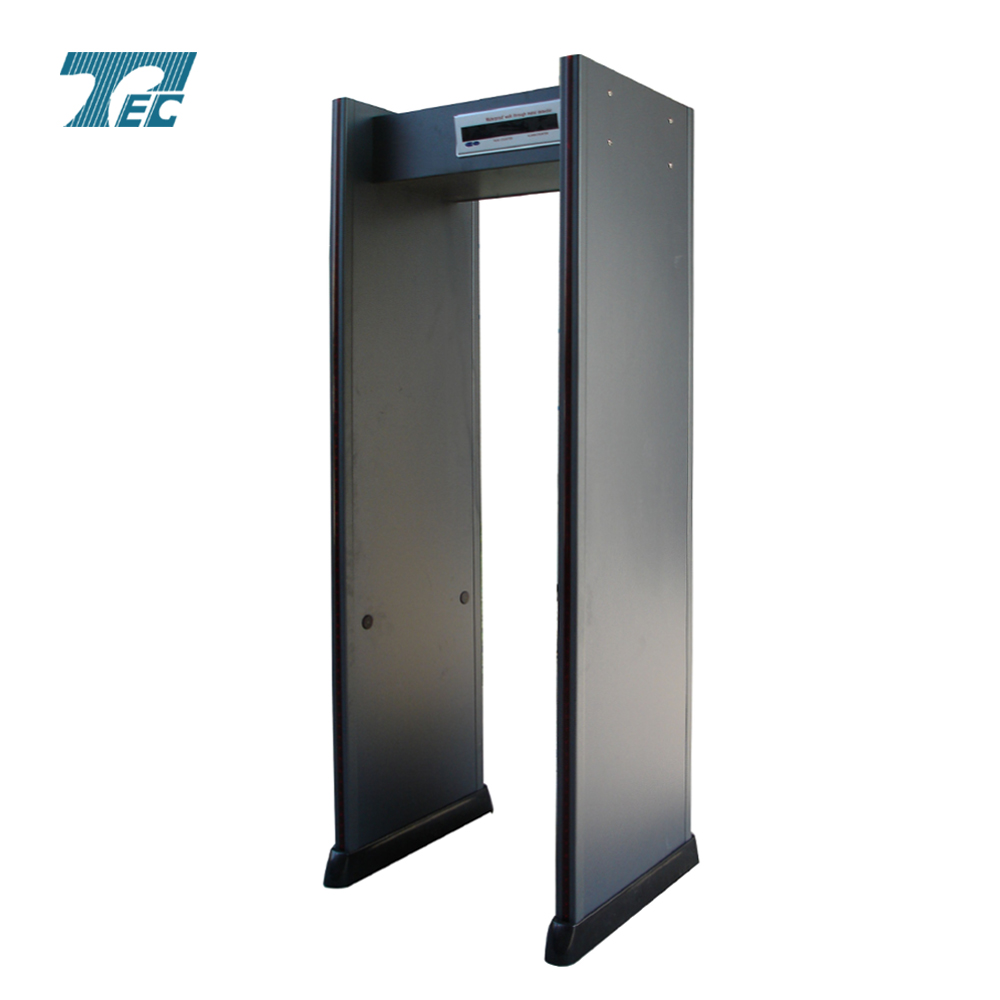 TEC-301 Walk through metal detector with 12 working frequencies