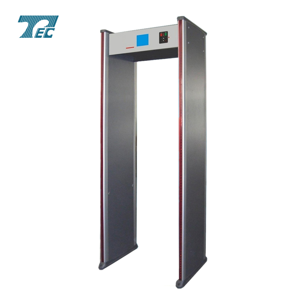 18zone&big TFT display walk through metal detector TEC-600C