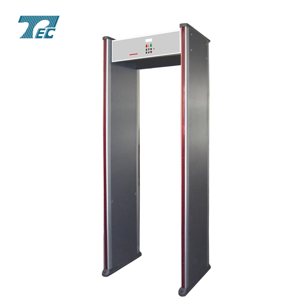 18 zones walk through metal detector 18 zones TEC-500C