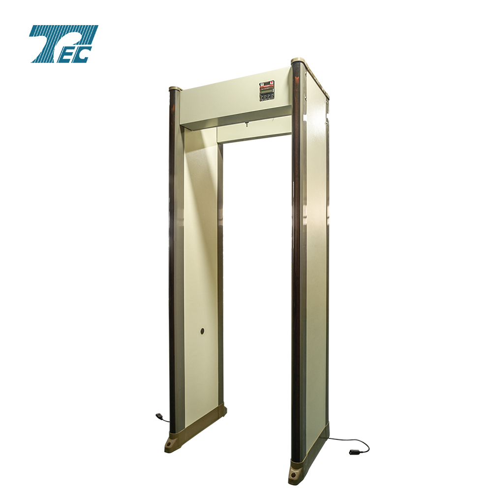 33zones walk through metal detector & security archway PD6500i