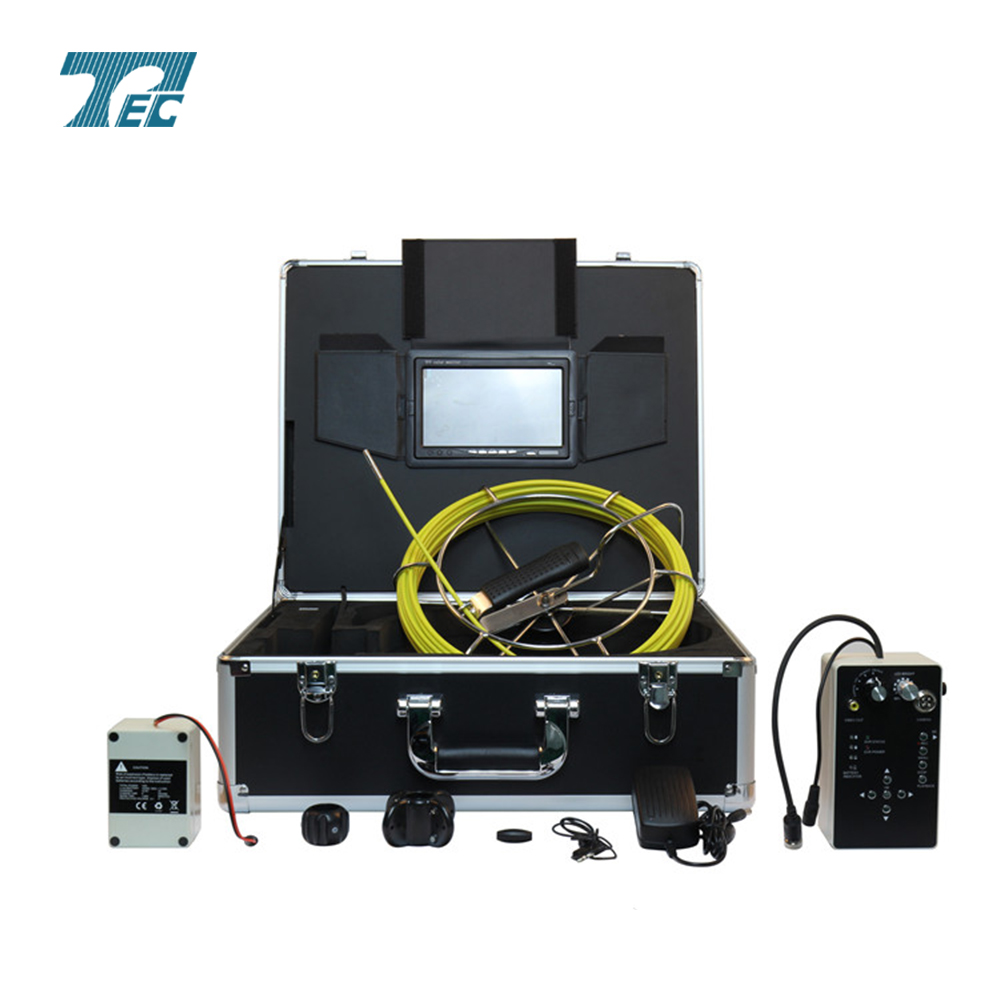 Pipe inspection camera with DVR,6mm camera TEC-Z710D5