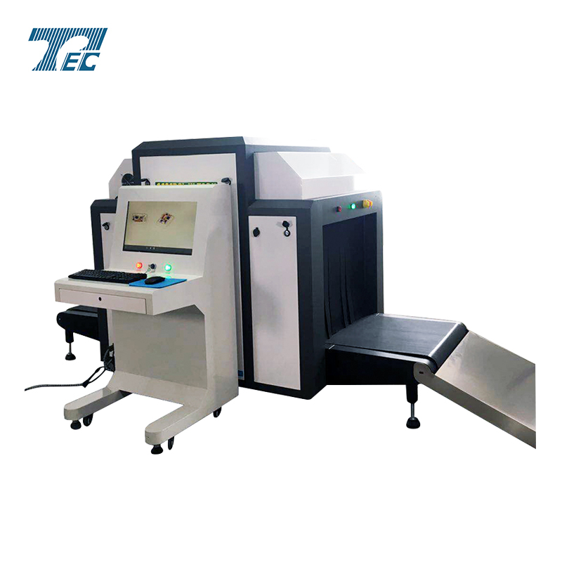Airport Cargo Luggage Security Detector, X-ray Scanner Equipmetn TEC-8065 x ray