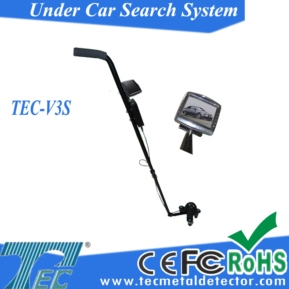 Inspection camera below Vehicles